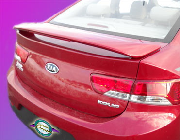Kia Forte 2-Door Coupe Custom Style Spoiler 2010-2013