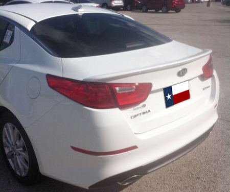 Kia Optima Paint Code Locations