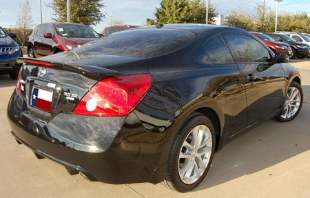 2 Door Altima >> Nissan Altima 2 Door Coupe Factory Style Spoiler 2008 2014