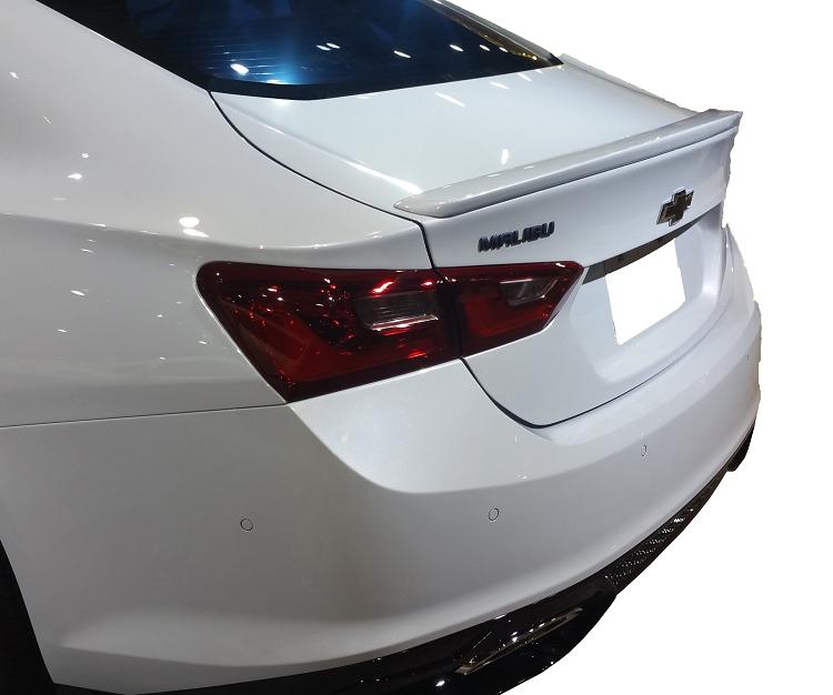 Chevrolet Malibu Factory Style Flush Spoiler 2016-2018