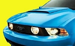 Ford Mustang Factory Style Hood Scoop 2010-2014