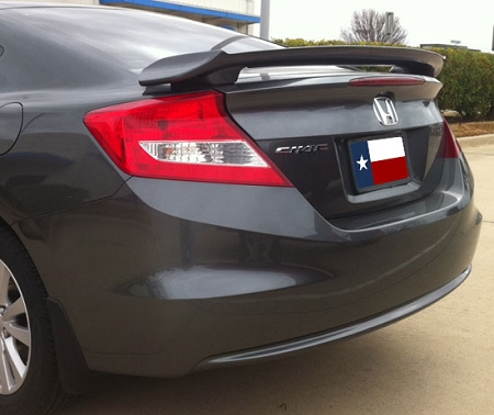 Home U003e Honda U003e Civic U003e 2012 U003e Honda Civic 2 Door Coupe Custom Style Spoiler  2012 2015