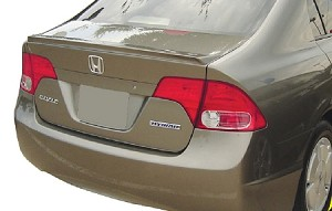 Honda Civic 4-Door Sedan Factory Style LIP Spoiler 2006-2011