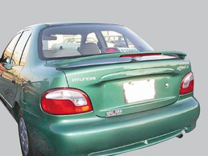 Hyundai Accent 2dr. Factory Style Spoiler 1996-1997