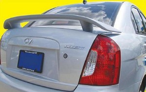 Hyundai Accent 4-Door Sedan Custom Style Spoiler 2006-2011
