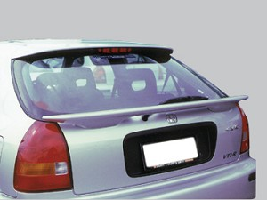 Honda Civic Hatchback Factory Style Spoiler 1996-2000