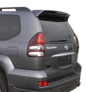 Lexus GX470 Factory Style Spoiler 2003-2009 - DOES NOT COME WITH BRAKE LIGHT COVER