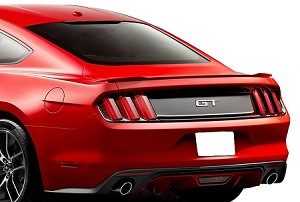 Ford Mustang GT Flush Mount Factory Style Spoiler 2015-2017 - will not fit the convertible