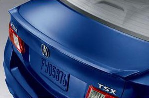 Acura TSX Factory Style Lip Spoiler 2009-2014
