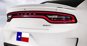 Dodge Charger HELLCAT Flush Mount Factory Style Spoiler 2015-2018 - Does not have a Camera Hole