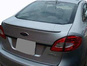 Ford Fiesta 4-Door Sedan Lip Factory Style Spoiler 2011-2016
