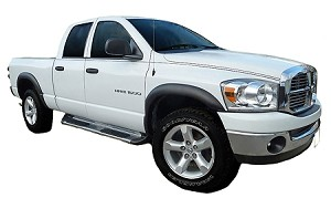 DODGE RAM 1500/2500 FACTORY STYLE FENDER FLARES 2006-2008