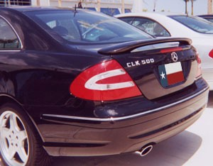Mercedes CLK 2-Post Factory Style Spoiler 2002 (will only fit the 2002 model)