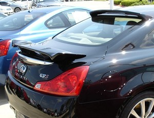 Infiniti G37 Q40 2 Door Coupe Rear Window Custom Style