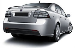 Saab 9.3 Sedan 3-Post Factory Style Spoiler 2008-2012