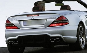 Mercedes SL Factory Style Spoiler 2003-2012