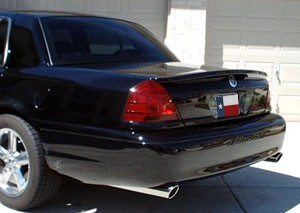 Mercury Grand Marquis Flush Mount Factory Style Spoiler 2003-2012