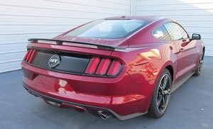 "Ford Mustang Coupe ""California Special"" Factory 3-Post No Light Spoiler 2015-2017 - will not fit the convertible"