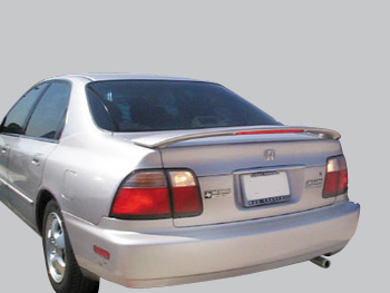 Hyundai Accent 4-Door Sedan Custom Style Spoiler 1998-1999
