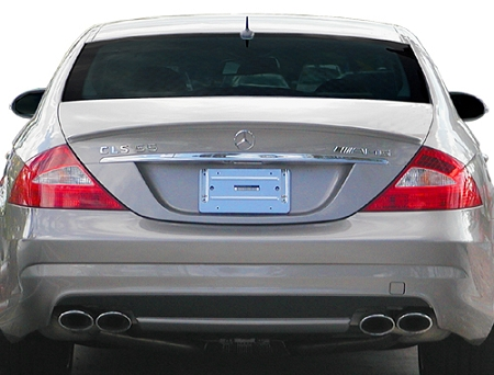 Mercedes CLS Lip Mount Factory Style Spoiler 2006-2011