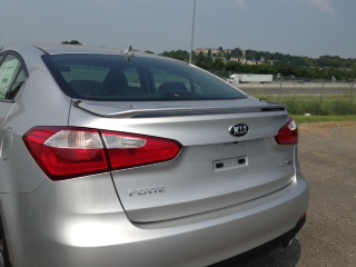 Kia Forte 4-Door Sedan Custom Style Spoiler 2014-2018
