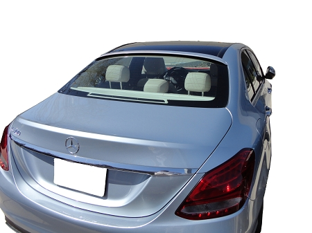 Mercedes C-Class 4-Door Sedan Roof Spoiler 2015-2018