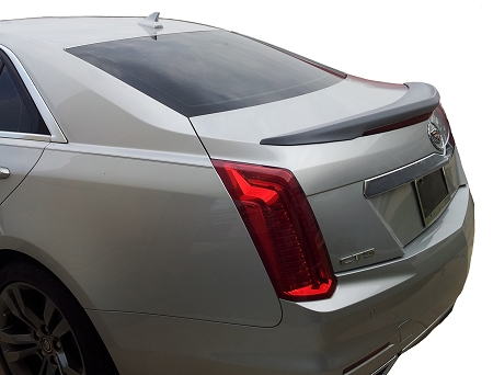 Cadillac CTS 4-Door Sedan Flush Mount Factory Style Spoiler 2014-2019