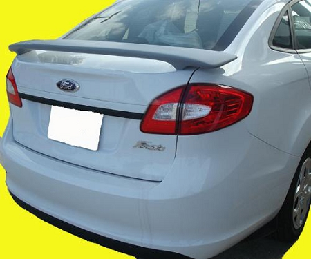 Ford Fiesta 4-Door Sedan Custom Style Spoiler 2011-2016