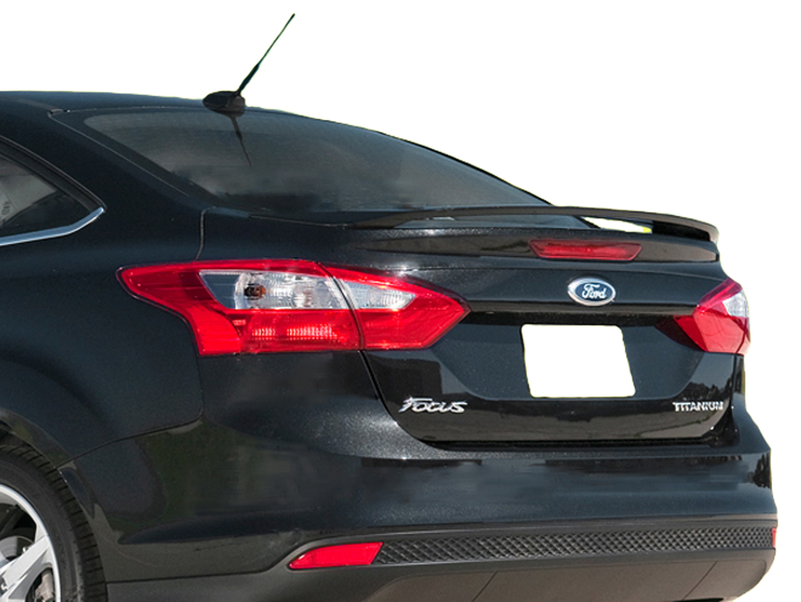 Ford Focus 4-Door Sedan Factory Style Spoiler 2012-2014