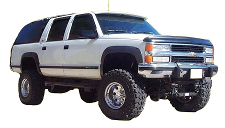 CHEVROLET SUBURBAN FACTORY STYLE FENDER FLARES 1992-1999