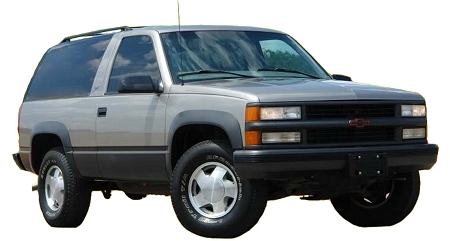 CHEVROLET TAHOE 2DR FACTORY STYLE FENDER FLARES 1995-1999