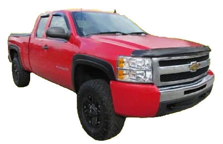 CHEVROLET SILVERADO 1500/2500/3500 FACTORY STYLE FENDER FLARES 2007 *NEW BODY STYLE* (WILL ONLY FIT STANDARD AND LONG BED)