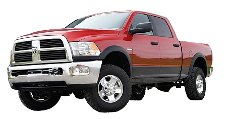 DODGE RAM 2500 FACTORY STYLE FENDER FLARES 2009-2013
