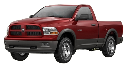 DODGE RAM 1500 FACTORY STYLE FENDER FLARES 2009-2013 (COPY)