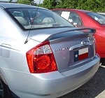 Kia Spectra 2-Post Factory Style Spoiler with Light 2005 - 2009