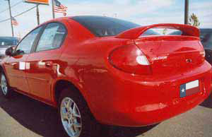 Dodge Neon Mid Wing Factory Style Spoiler 2000-2005