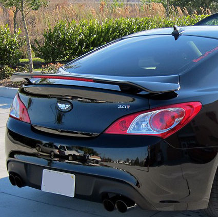 Hyundai Genesis Coupe 2-Door Coupe Factory Style Spoiler 2010-2016