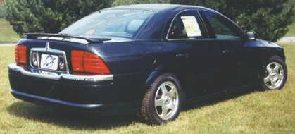 Lincoln LS Custom Style (WITH LIGHT) Spoiler 2000-2009