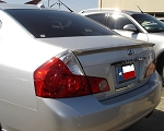 Infiniti M35 / M45 Small Lip Mount Custom Style Spoiler 2008-2010