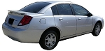 Saturn Ion 4dr. Factory Style Spoiler 2003-2009