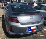 Honda Accord 2-Door Coupe Custom Style Spoiler 2013-2017
