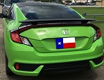 Honda Civic 2-Door Coupe Custom Style Spoiler 2016-2018