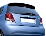 Chevrolet Aveo 5-Door Factory Style Roof Spoiler 2004-2011