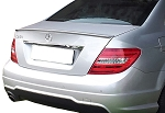 Mercedes C-Class 4-Door Sedan Lip Mount Factory Style Spoiler 2008-2014