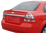 Chevrolet Aveo 4-Door Sedan Lip Factory Style Spoiler 2007-2011