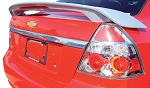 Chevrolet Aveo 4-Door Sedan Custom Style Spoiler 2007-2011