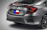 Honda Civic 4-Door Sedan Factory Style Spoiler 2016-2018